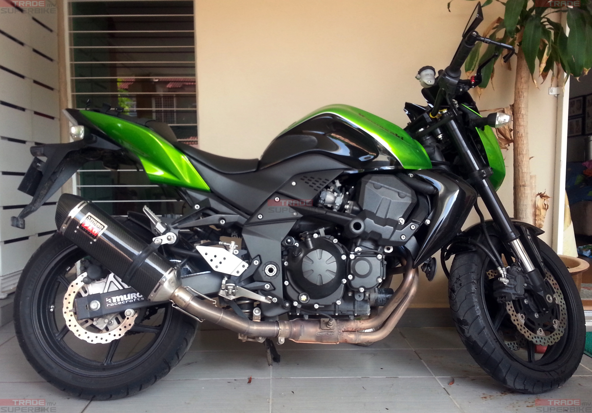 kawasaki z750 cbu japan specs 2009 well maintained. Black Bedroom Furniture Sets. Home Design Ideas
