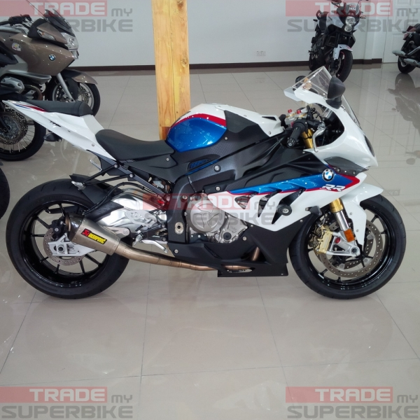 bmw s1000rr 2013 full system akrapovic unregister. Black Bedroom Furniture Sets. Home Design Ideas