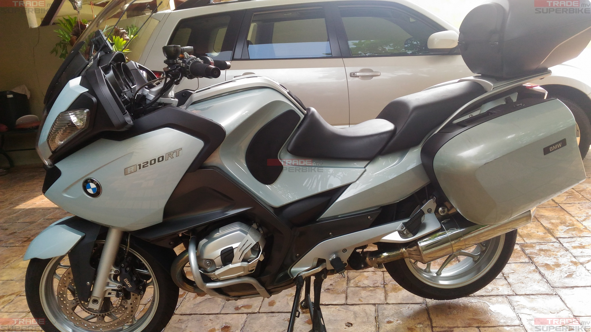 Bmw R1200rt With Accessories Trademysuperbike Com My